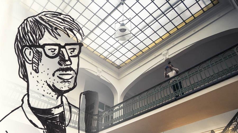 Créateurs, influenceurs et livesketching au Café Numérique