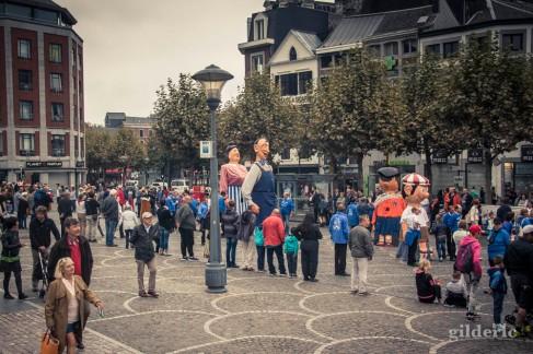 Cortège des géants, Wallos 2016