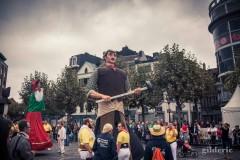 Cortège des géants, Wallos 2016, Liège