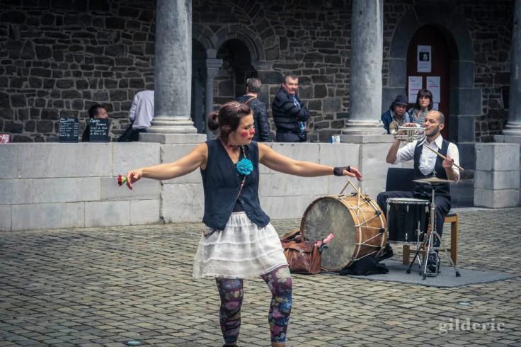Danseuse aux Fêtes de Wallonie 2016