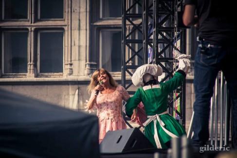 Chantal Goya et Becassine (Wallos de Liège 2016)