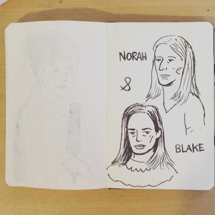 Norah Blake (dessin en live) au Café Numérique