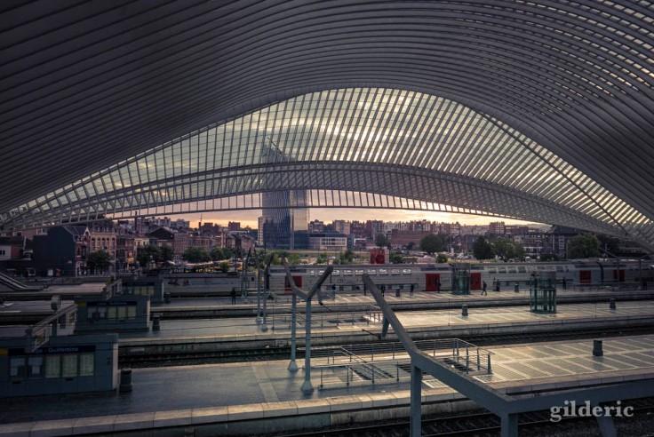 Un matin dans le futur (à la gare de Liège-Guillemins)