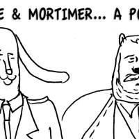 Carnets secrets : Blake et Mortimer... à poil !