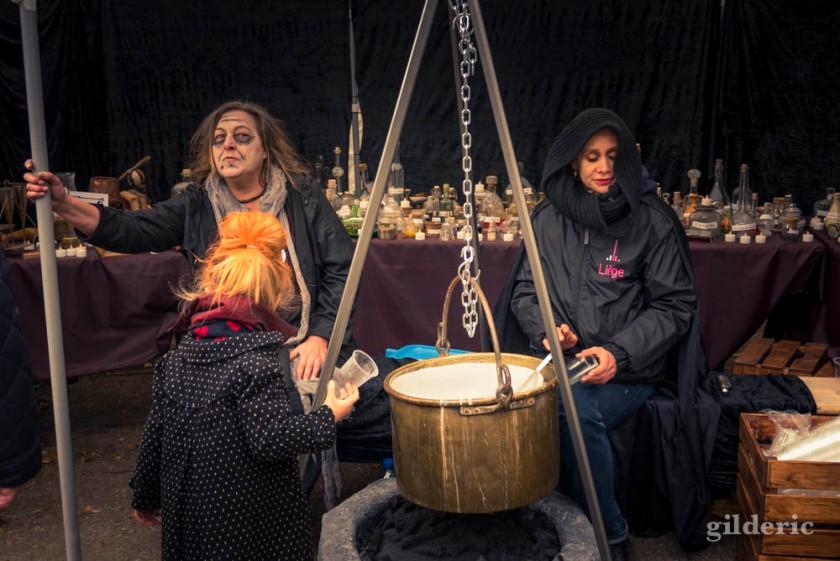 La potion des sorcières aux Contes mystérieux de la Chartreuse