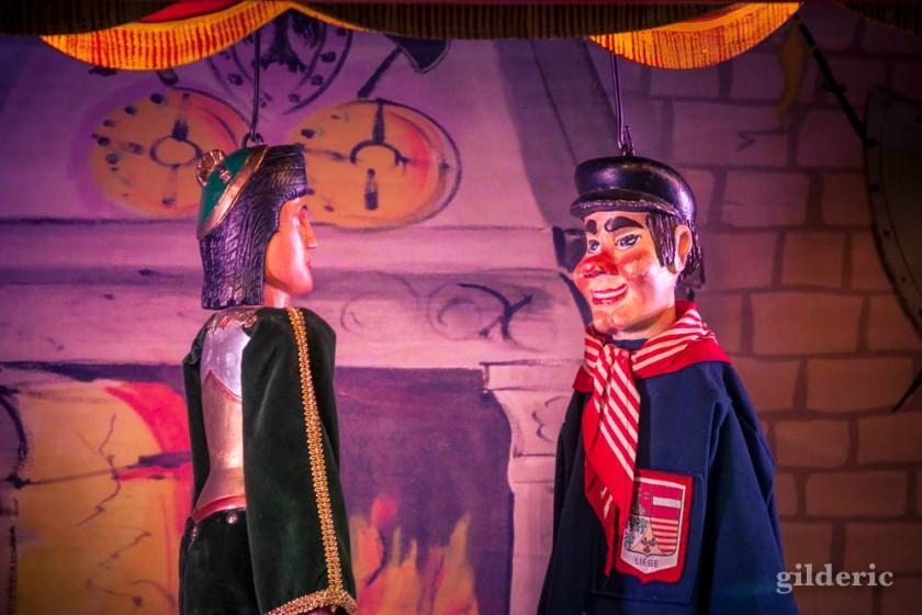 Tchantchès - Théâtre à Denis (marionnettes) aux Contes mystérieux de la Chartreuse