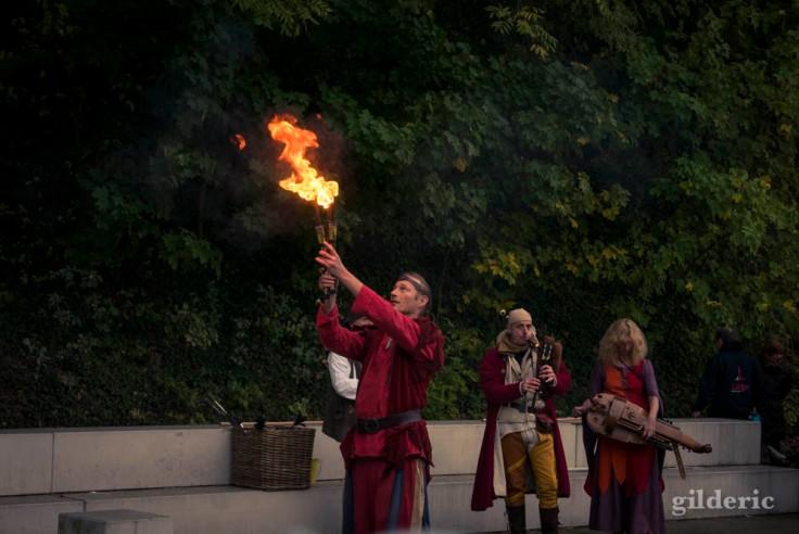 Cracheur de feu aux Contes mystérieux de la Chartreuse