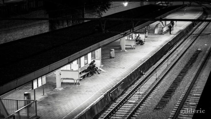 Jour de grève à Liège : gare du Palais
