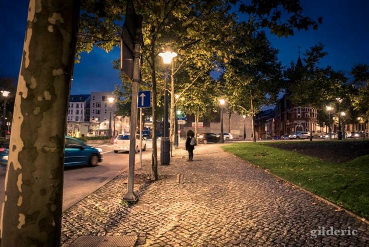 Jour de grève à Liège : attente au Cadran