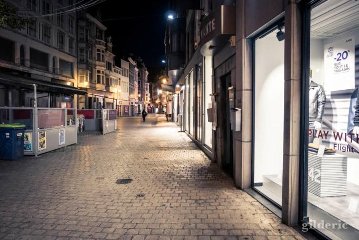 Jour de grève : lèche-vitrine fantôme