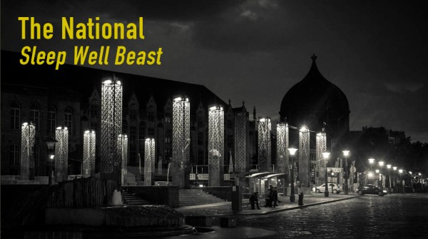 "Critique et photos inspirées de The National -""Sleep Well Beast"""