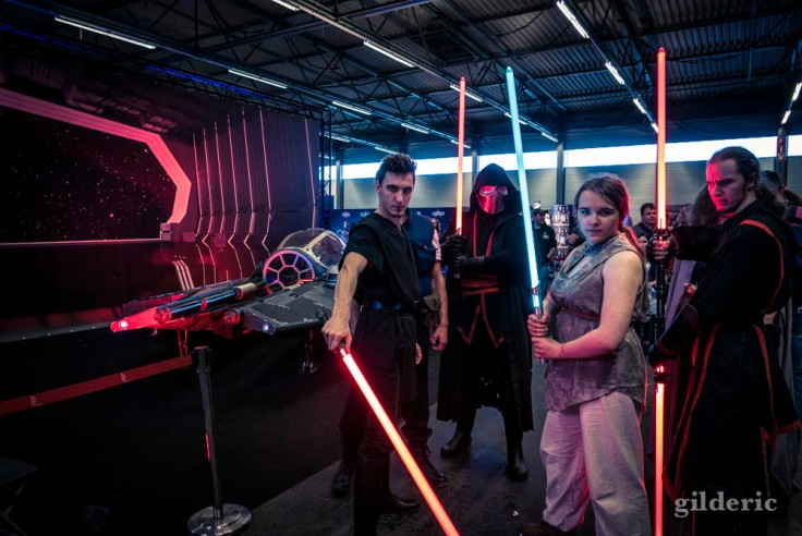 Jedi fans de Star Wars (cosplay FACTS 2017)