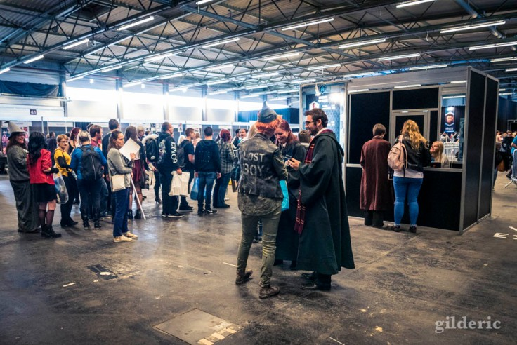 Garçon perdu et Harry Potter (cosplay FACTS 2017)