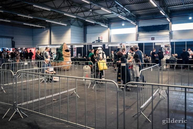 Cosplay Jabba the Hutt (FACTS 2017)