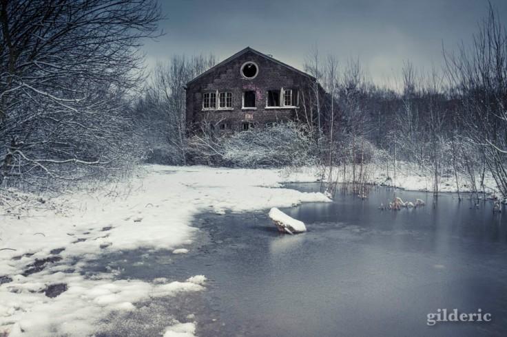 Le Fort de la Chartreuse sous la neige et le froid