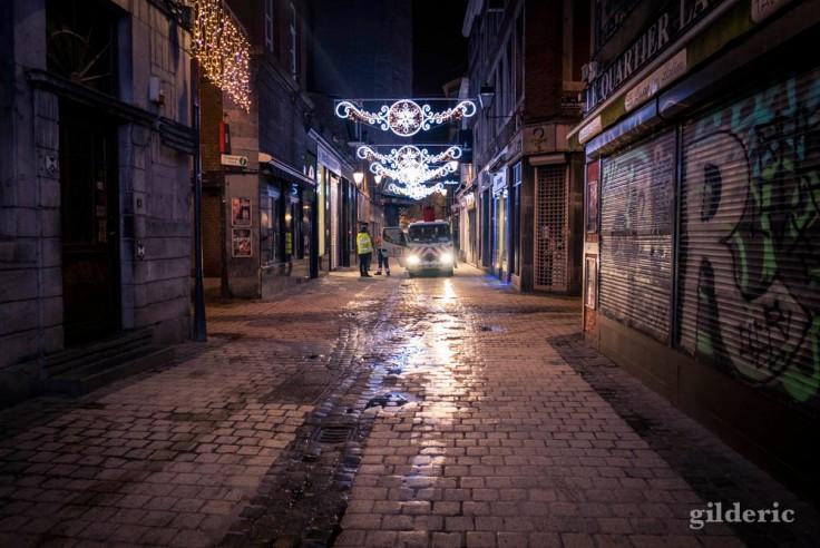 La magie de Noël au petit matin (Liège 2017)