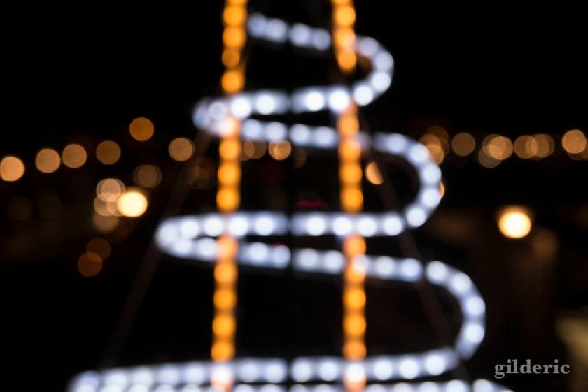 Le sapin de lumière (Liège)