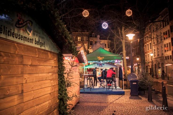 Délicieusement belge (au Village de Noël, Liège)