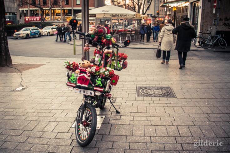 Le vélo du Père Noël (Cologne)