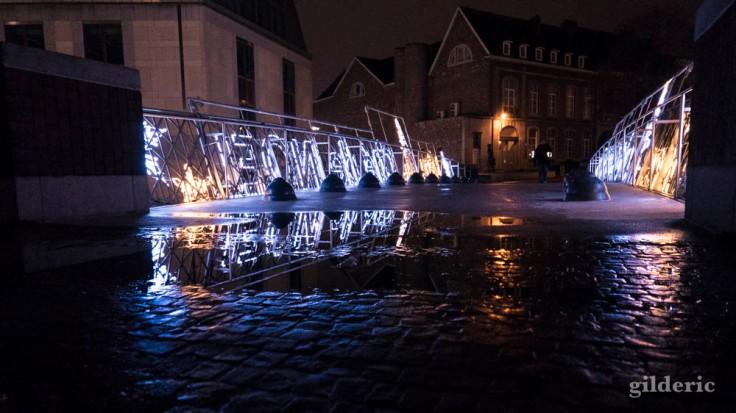 Reflets et illuminations de Noël (Liège, 2017)