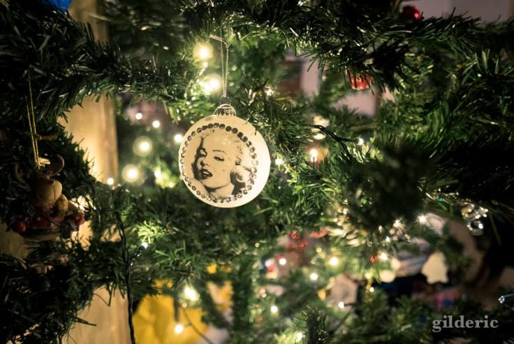 La star du sapin de Noël