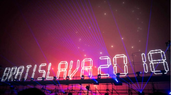 Nouvel An à Bratislava