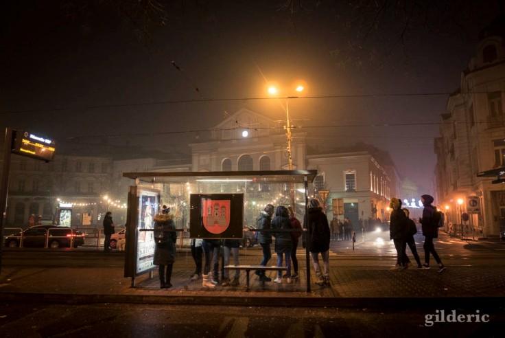 Bratislava, nuit du Nouvel An