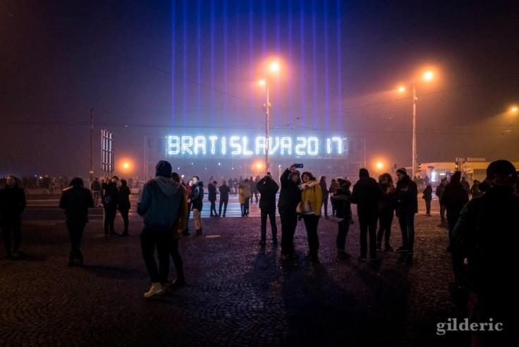 Bratislava 2017 (laser et light show)