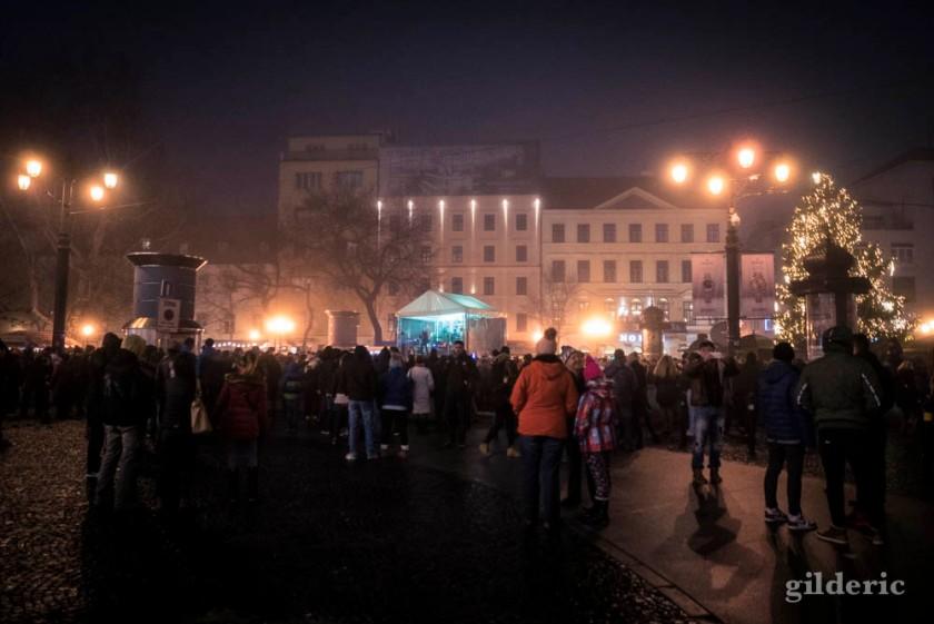 Nouvel an à Bratislava (dj et musique en ville)