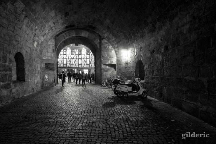 Nuremberg, entrée dans la vieille ville