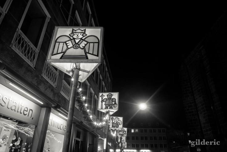 Place du Marché à Nuremberg