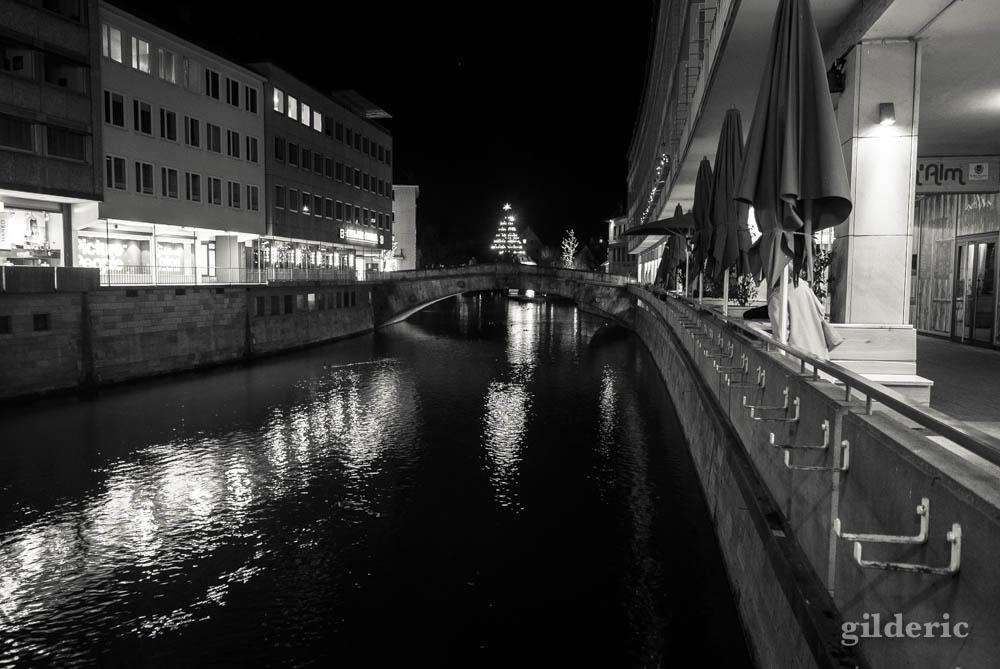 Reflets sur l'eau à Nuremberg