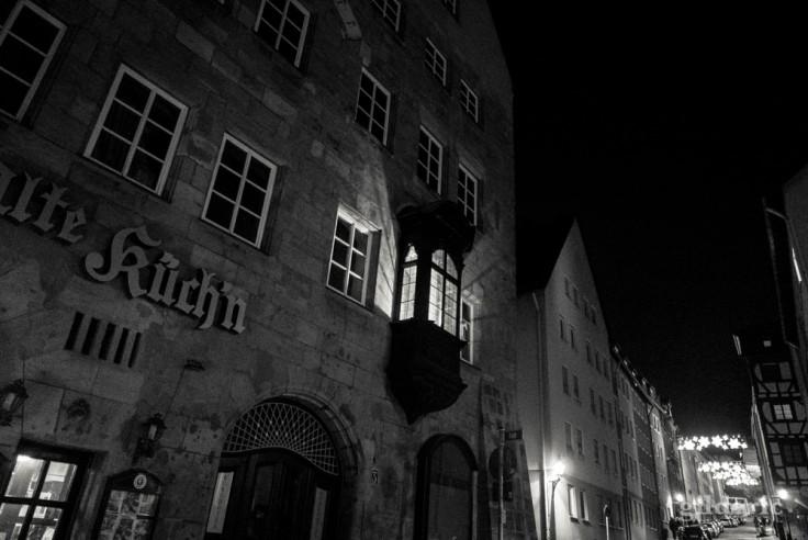 Architecture à Nuremberg (de nuit)