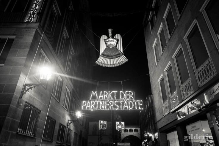 Markt der Partnerstadte à Nuremberg