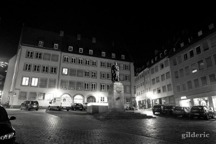 Statue de Dürer à Nuremberg