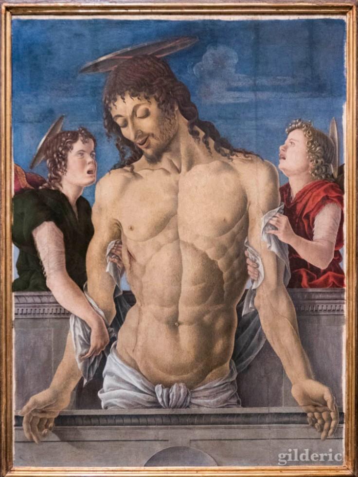 Christ et anges concupiscents