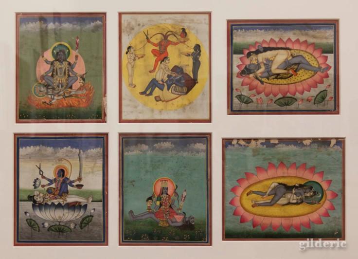 Art érotique du Kamasutra indien