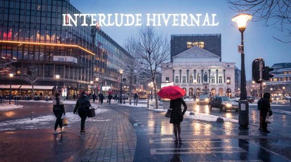 Interlude hivernal : il neige sur Liège