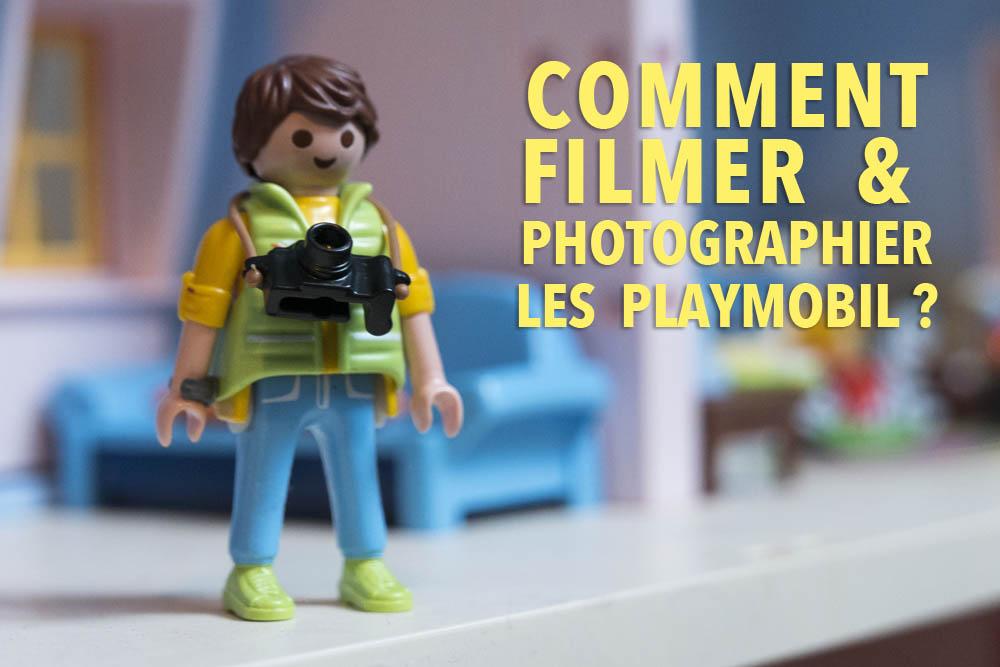 Comment filmer et photographier les Playmobil?