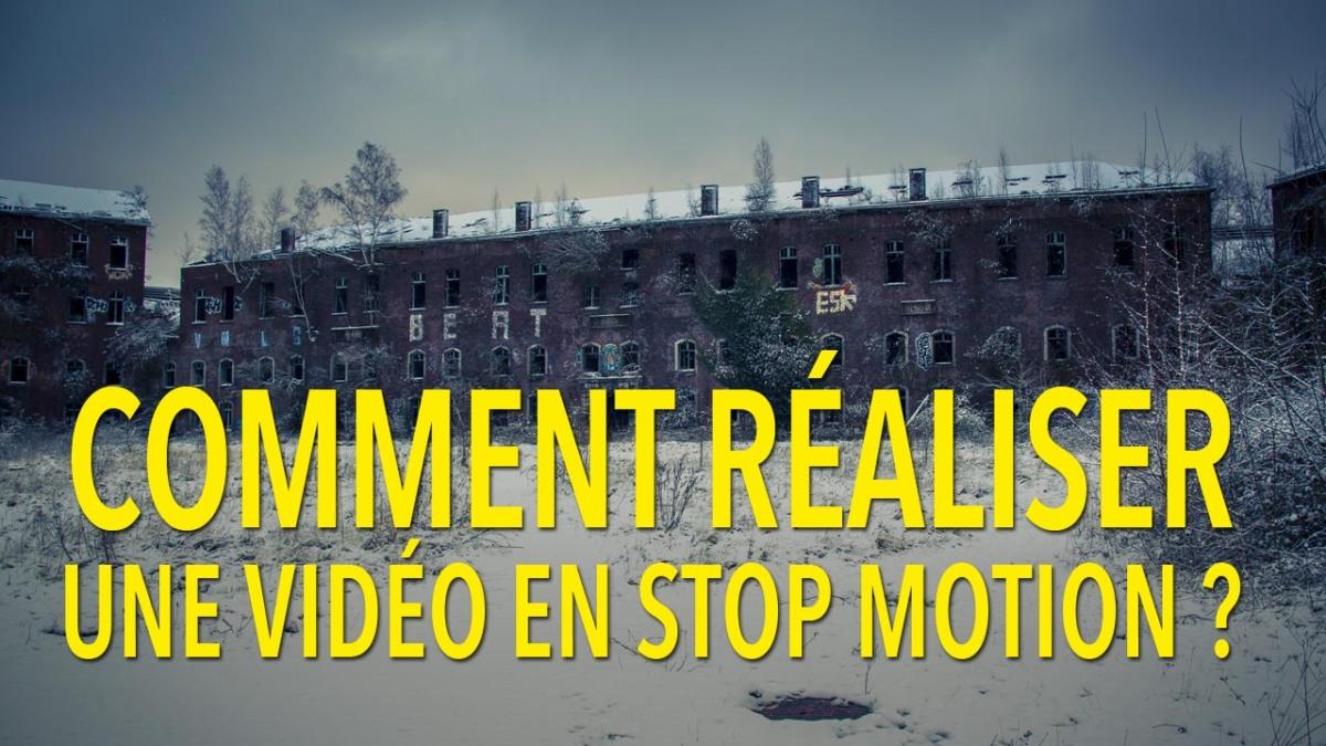 Comment réaliser une vidéo en stop motion avec des photos?