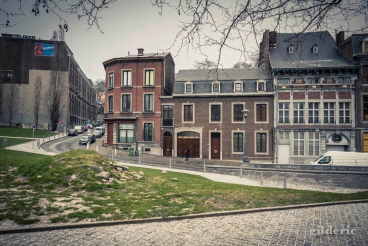 Vieilles maisons au Cadran (Liège)