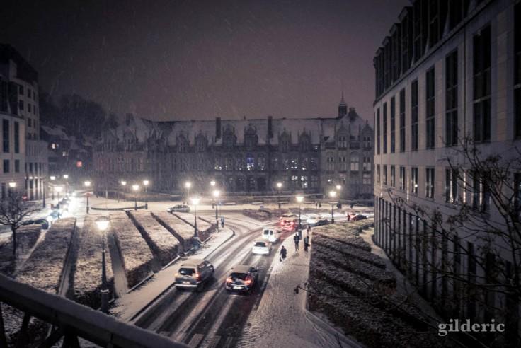 Il neige sur les Princes-Evêques de Liège