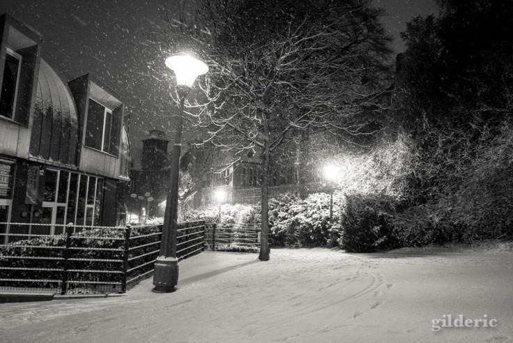 Liège sous la neige