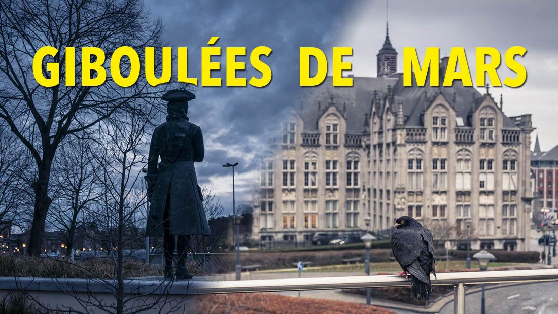Giboulées de mars (à Liège) : photos et vidéo en stop motion