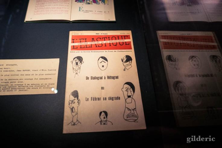 "Expo Empreintes : ""L'Elastique, organe officiel de la Wehrmacht"""