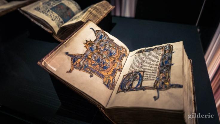 Expo Empreintes : Psautier dit de Lambert le Bègue, 13e siècle
