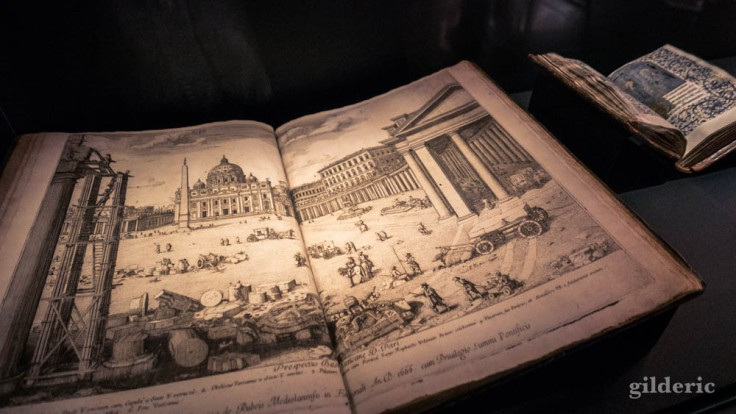 Expo Empreintes : Lieven Cruyl, Prospectus locorum urbis Romae inscnium, 1666