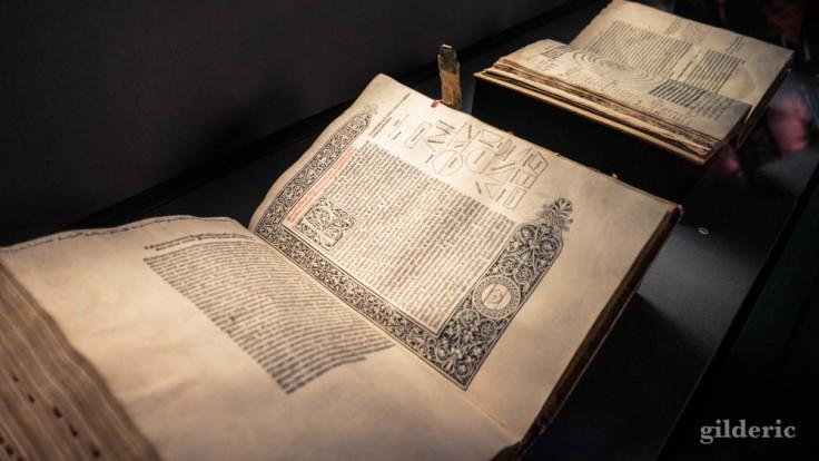 Expo Empreintes : Euclide, Les Eléments (première édition, 1482)