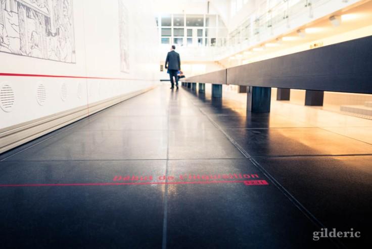 Expo Empreintes : ligne du temps
