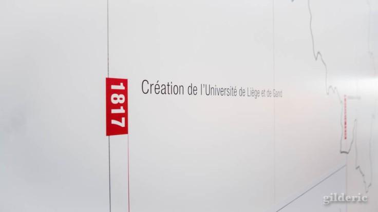 Expo Empreintes : création de l'Université de Liège